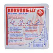 Burn Shield Burn Dressing 4x4 Each