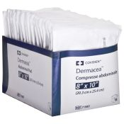 Kendall Curity Abdominal Absorbent Surgical Dressing 8'' X 10'' 16/box