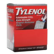 Tylenol Rapid Release Gels 50 Packets of 2