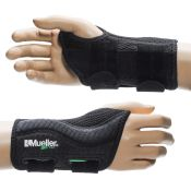 Mueller Green Wrist Brace Black Each