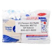 First Aid Kit Refill For 25 Person First Aid Kit