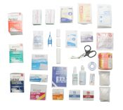 First Aid Kit Refill For 2 Shelf Kit With Meds