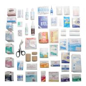 First Aid Kit Refill Pack for Large 4 Shelf Kit