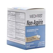 Medifirst Non Aspirin Pain Relief Tablet Packets