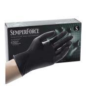 Black Nitrile Gloves by Semperforce (100/Bx)