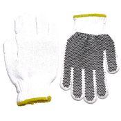 Pvc Dot String Knit Wrist Work Glove Dozen