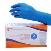 Dynarex High Risk Latex Glove Ex Long (50)