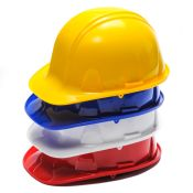 Safety Hard Hat With Snap Adjustment