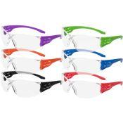 Trulock Safety Glasses Color Pack (12pr/Bx)