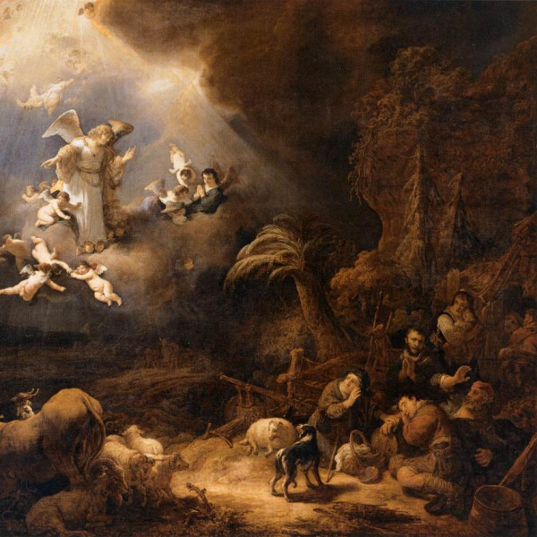 Govert flinck   angels announcing the birth of christ to the shepherds   wga07928