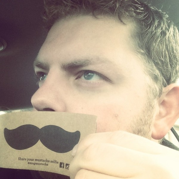 Micah mustache