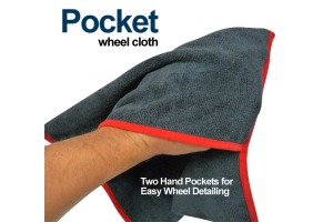 Autofiber Pocket Wheel Cloth (pack of 2)