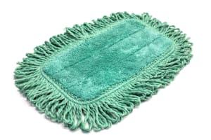 10 in. x 5.5 in. Microfiber Fringe Dust Mop Pad