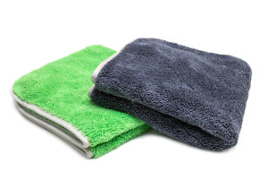 Extra Fluffy Microfiber Detailing Towel with MicroEdge (16 in. x 16 in.)