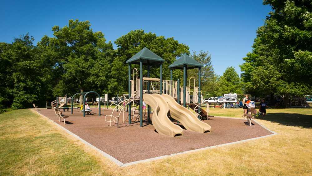Playground near campground