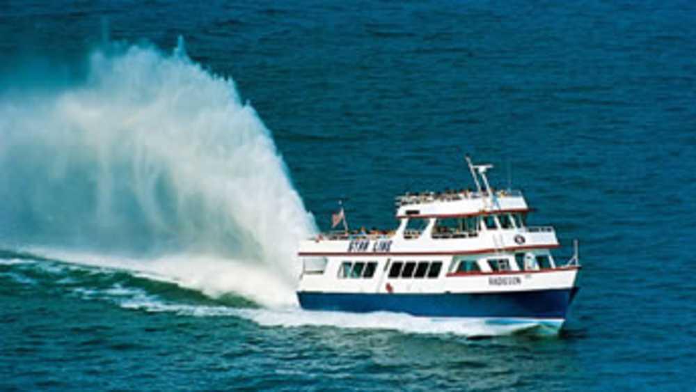 Star Line Mackinac Island Hydro Jet Ferry Michigan