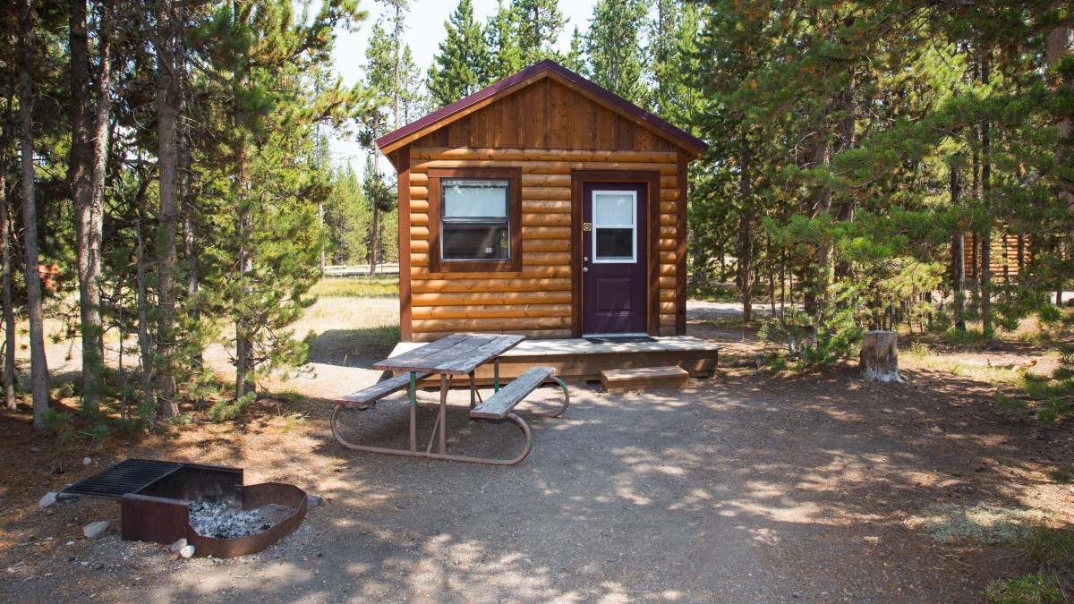 Headwaters campground and rv park moran travel wyoming for Headwaters cabins gran teton recensioni