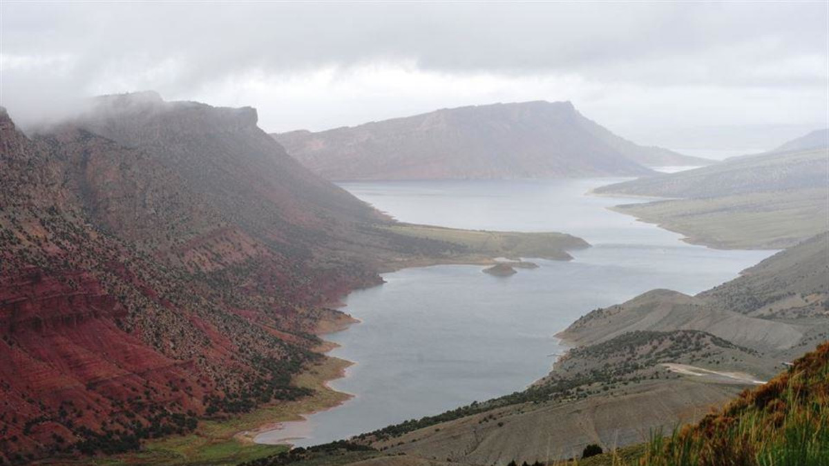 Flaming Gorge Green River Basin Scenic Byway Travel Wyoming