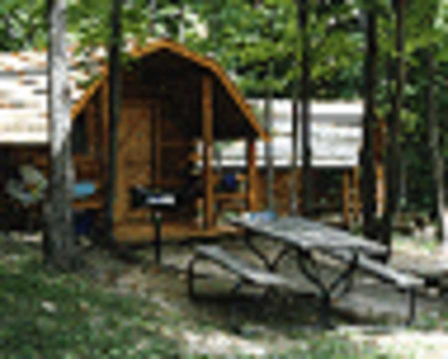 Tustin michigan - The recreational vehicle turned cabin in the woods ...