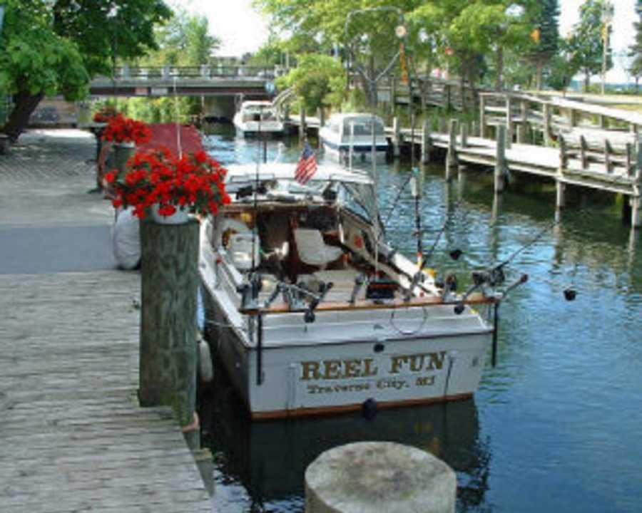 Traverse city properties michigan for Traverse city fishing charters