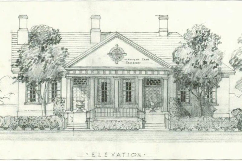 Waitman T. Willey Mansion Historic Structure Report - Photo