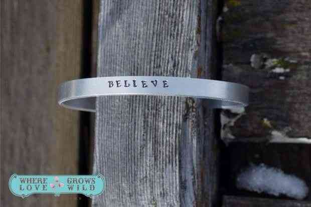 Custom Hand Stamped Bracelet by Nicole Marshall | The Mindful Shopper