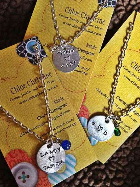Dainty Charm Necklaces by Nicole Marshall | The Mindful Shopper