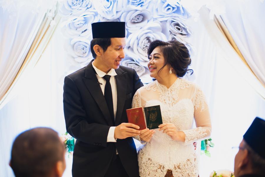 Novi & Tri | Akad Nikah at Ibis Slipi Hotel - Jakarta 36
