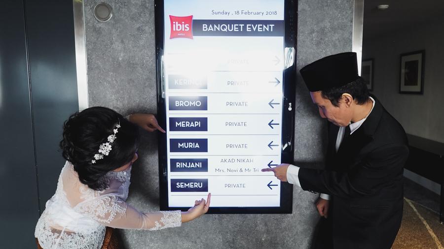 Novi & Tri | Akad Nikah at Ibis Slipi Hotel - Jakarta 64