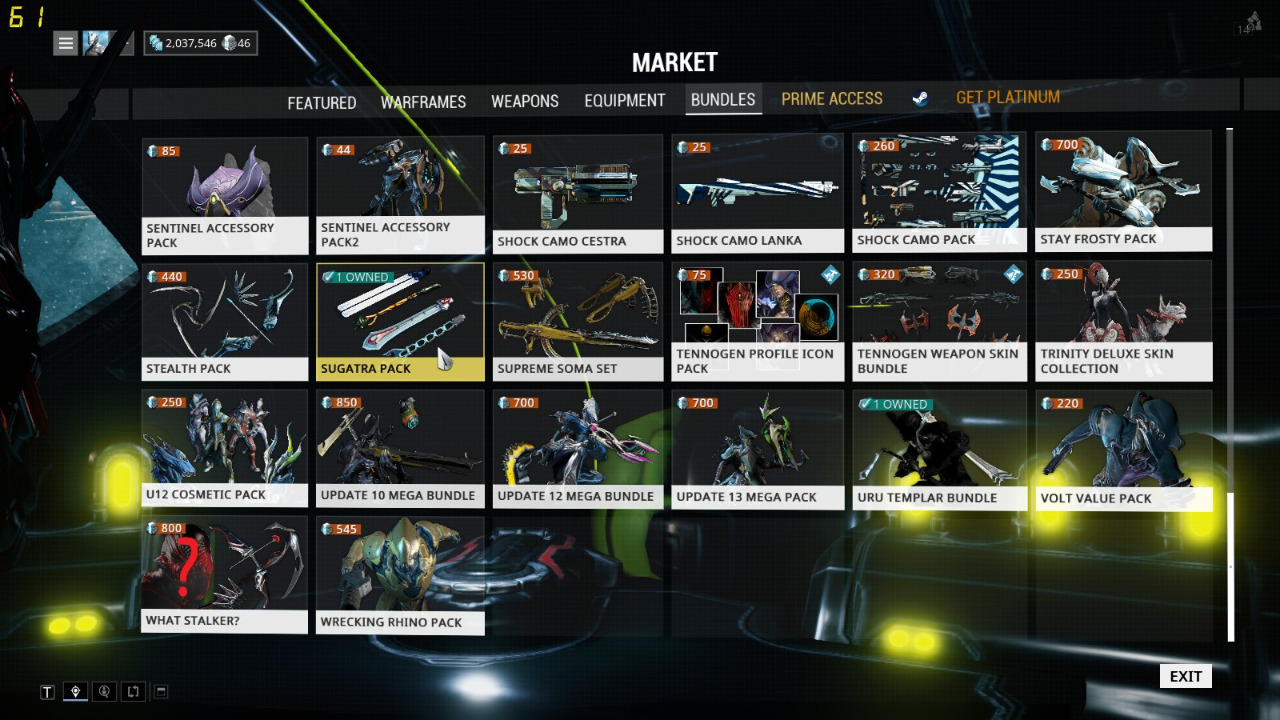 Selling Selling MR 11 warframe account for cs go skins , tf2 items ...