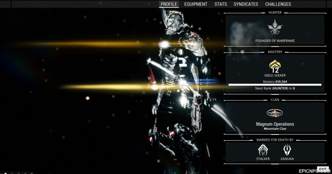 Yes Thats My Full Customized Excalibur Prime Lovely Isnt He What I Have To Add Here Is That As You Can See On The Screenshot
