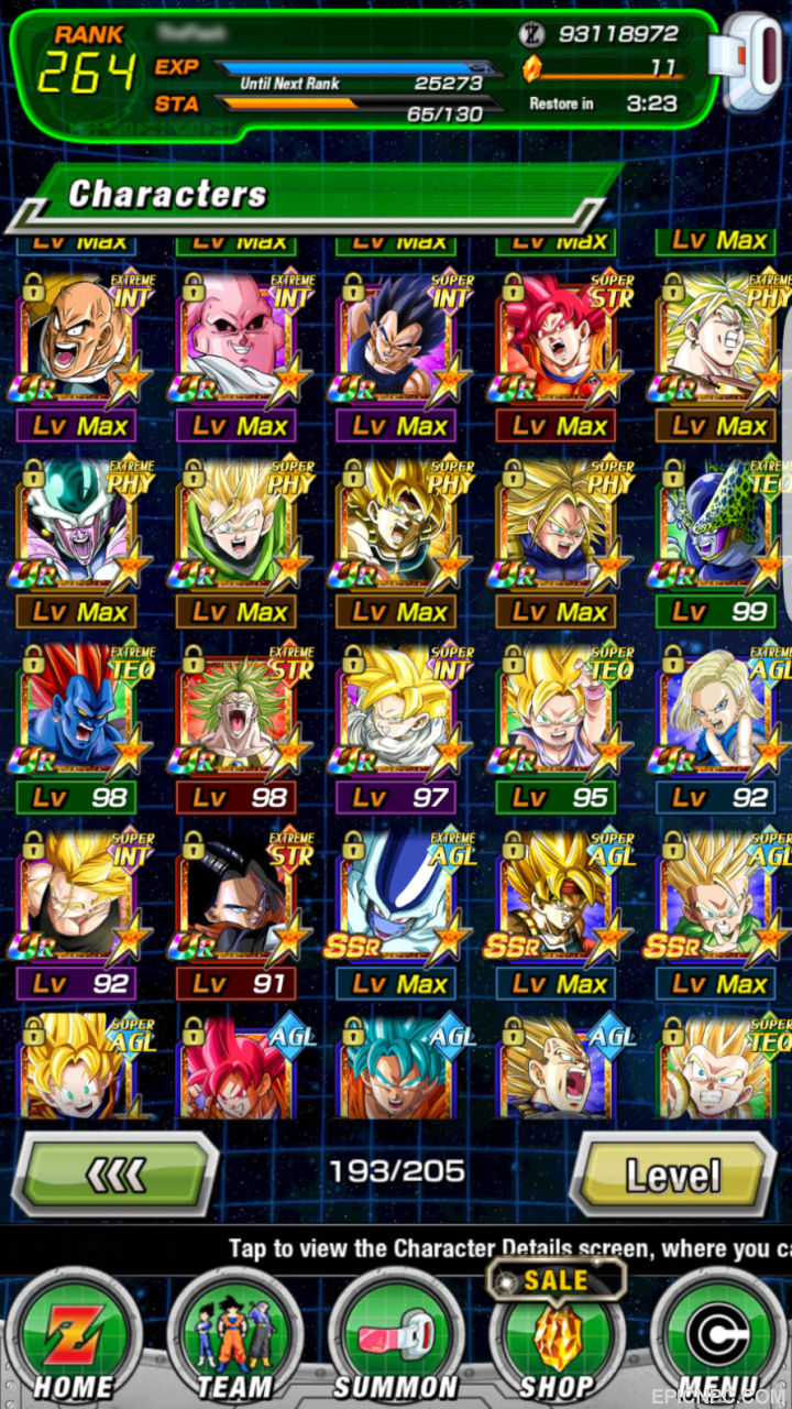 lr goku global account lv 264 for i m selling my lr goku max sa account the asking price is 120 willing to consider best offer no low ballers thanks