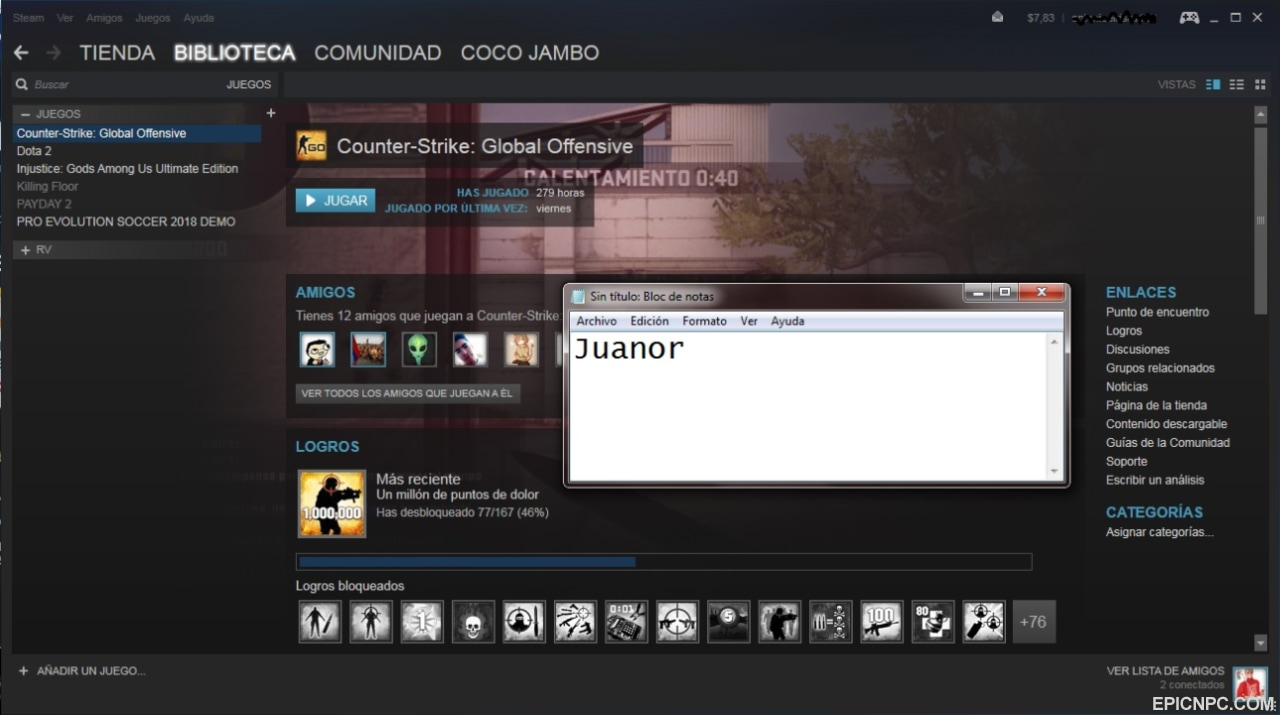 Csgo Account 7 In The Wallet 15 Steam 12