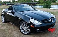 MERCEDES SLK 350  noir