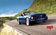 Ford Mustang Convertible  noir