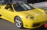FERRARI 360 SPIDER 2003 jaune