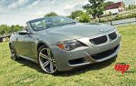 BMW M6 convertible  charbon