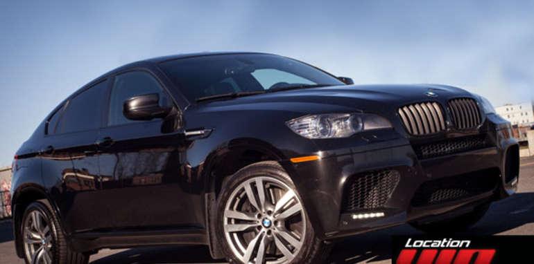 BMW X6M  noir