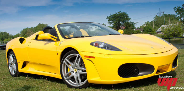 location vip montr al ferrari f430 spider 2007 aux meilleurs prix. Black Bedroom Furniture Sets. Home Design Ideas