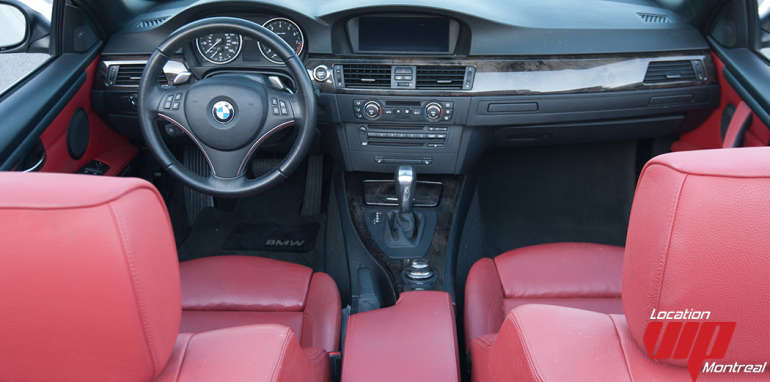 BMW 335I CONVERTIBLE  blanc