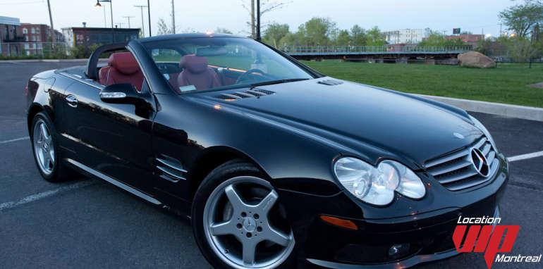 MERCEDES SL500 AMG noir