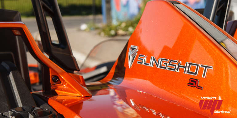 Polaris Slingshot SL LE 2015 orange