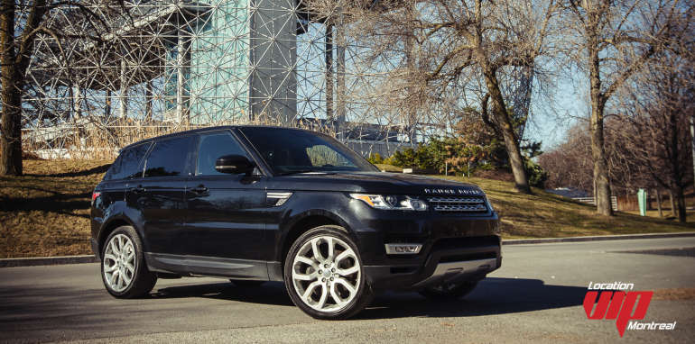 Range Rover Sport Supercharged 2014 noir