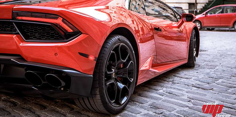 Lamborghini Huracan 2016 rouge