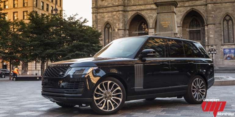 Range Rover Supercharged 2019 noir