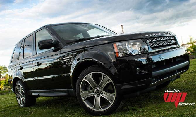 Range Rover Sport Supercharged 2012 noir