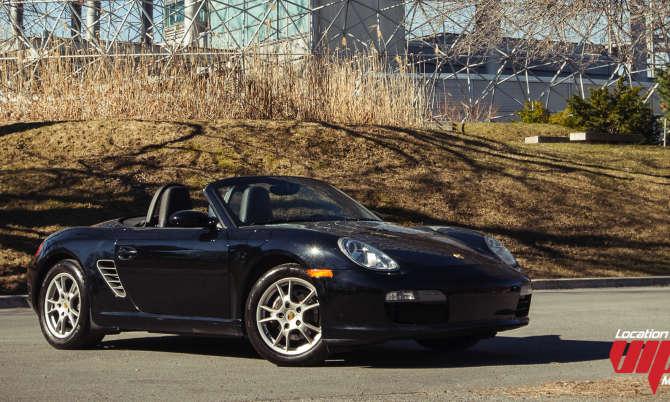 Porsche Boxster  noir