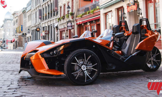 Polaris Slingshot SL LE 2015 orange