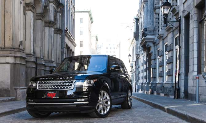 Range Rover Supercharged 2016 noir