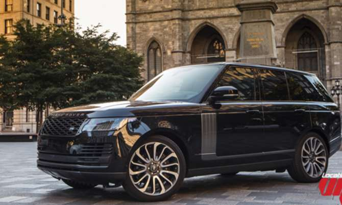 Range Rover Supercharged 2018 noir